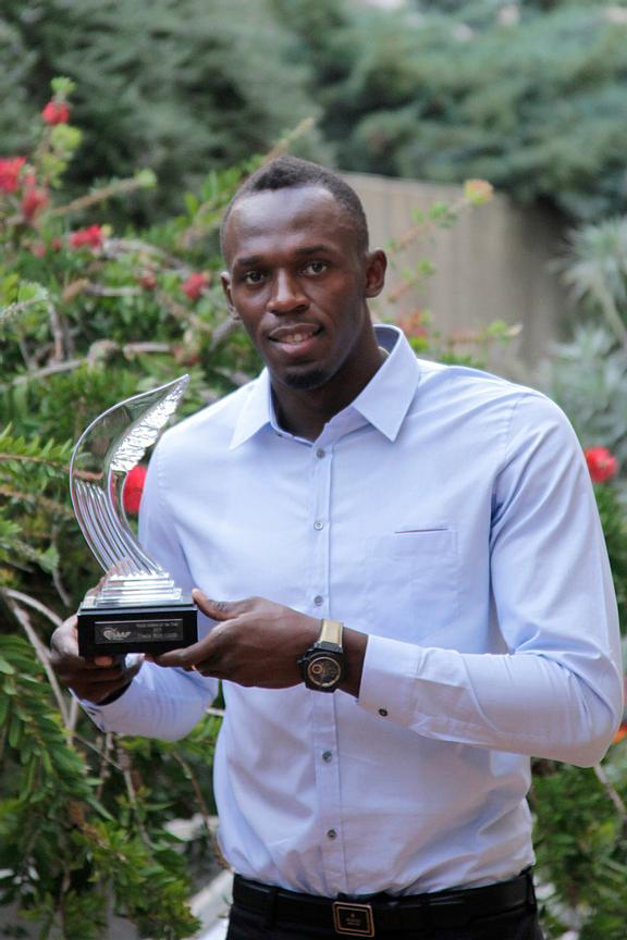 Usain Bolt Athlete of year 2013