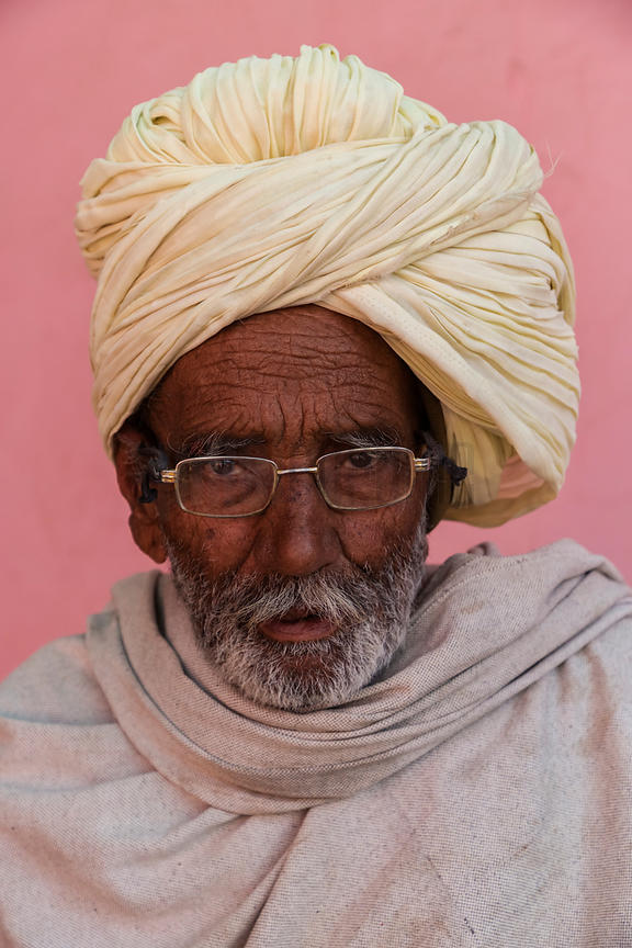 Portrait of a Marwari Man