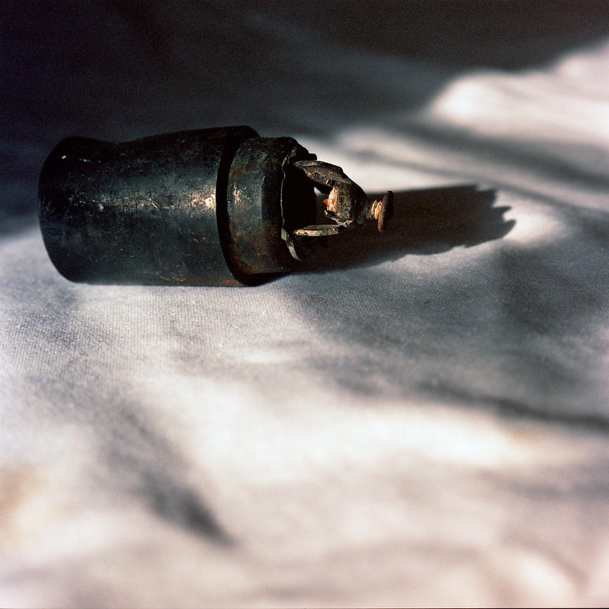 Lebanon - Tyre - A cluster bomb munition