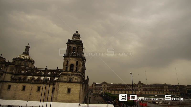 Time-Lapse of Cathedral in Mexico City