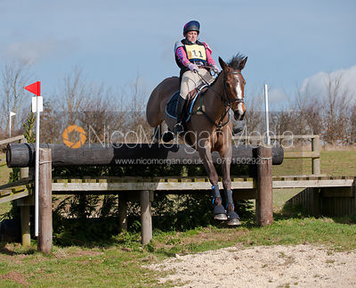 Adele Allen and Opium Opposition, Oasby Horse Trials 2011