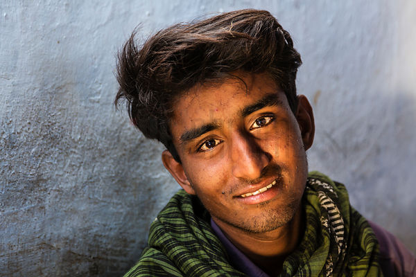 "Portrait of a Young Man in ""Little Pakistan"""