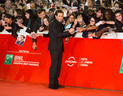 Jake Gyllenhaal and Jeff Bauman on the red carpet for Stronger at the Rome International Film Festival, , Rome Italy, 28 Oct,...