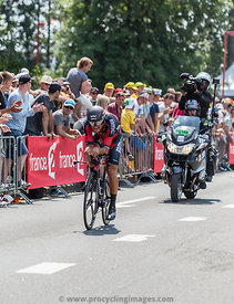 The Cyclist Greg Van Avermaet - Tour de France 2015