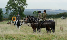 Hilary Butler, Louisa Fear - The Cottesmore Hunt at Betts Barn 27/9