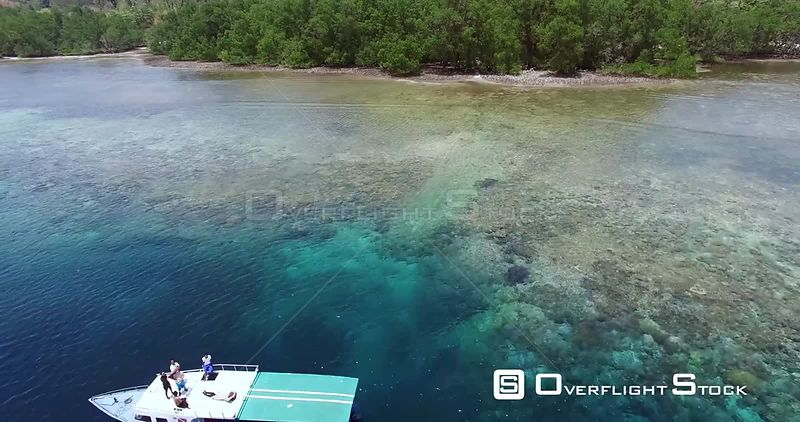 Tropical Seacoast of Bali Indonesia