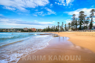 Manly sandy beach