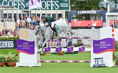 Bertram Allen and MOLLY MALONE V - FEI Nations Cup, Dublin Horse Show 2017