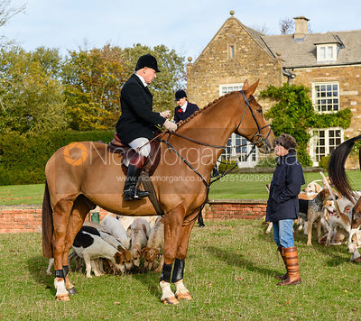 James Mossman, Cottesmore Hunt Opening Meet 2018