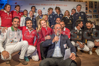 Team Presentation Event - Snow Polo World Cup 2018