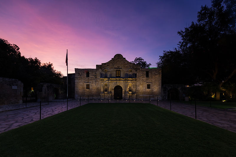 The Alamo at Dawn