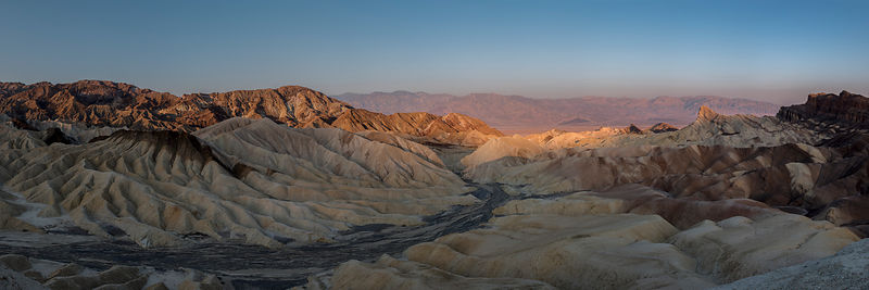 Sunrise at Zabriskie Point (ter) - California