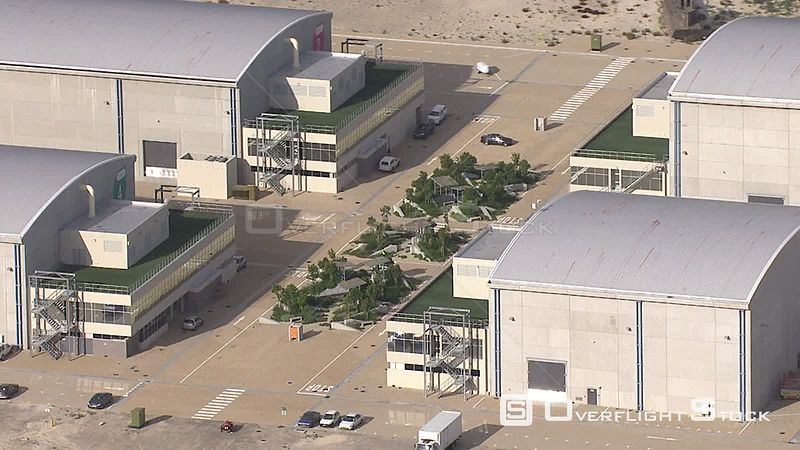 Aerial shot of Cape Town Film Studios. Cape Town Western Cape South Africa