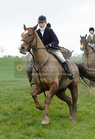 Marina Bealby at Knossington Spinney - The Fitzwilliam Hunt visit the Cottesmore at Burrough House