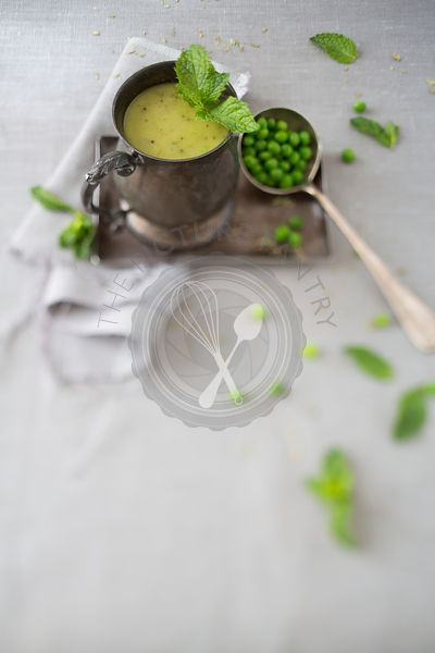 Mint & Pea Homemade Soup
