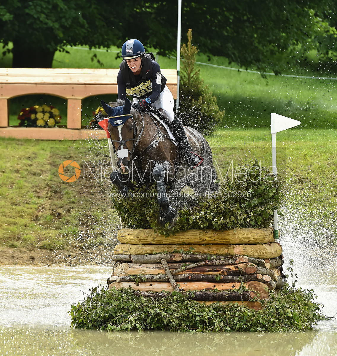 Hallie Coon and CELIEN, Equitrek Bramham Horse Trials 2018