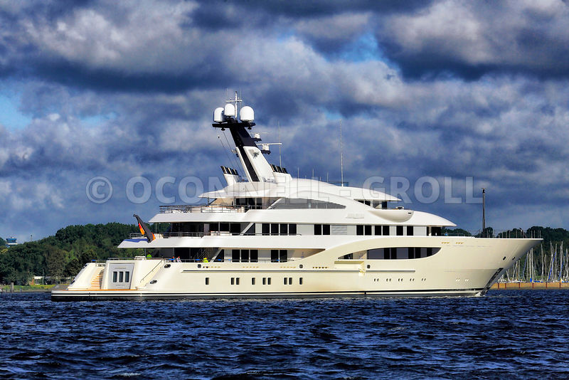 Mark O'Connell Photography | Superyacht Areti