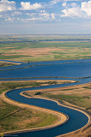 Aerial View of the Sacramento River Delta #2