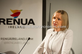13th March, 2015.Lucinda Creighton (pictured) launches her new political party RenuaIreland in the Science Gallery, Dublin.Pi...
