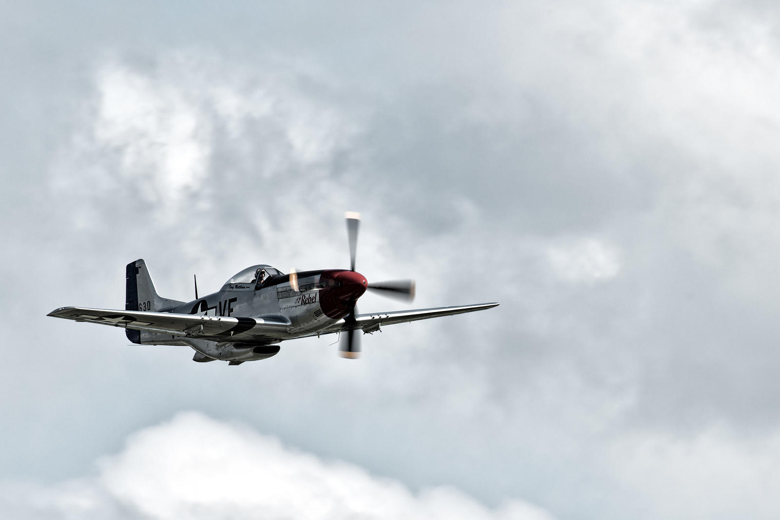 "P-51D Mustang ""the Rebel"""