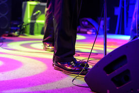 music photography of the Pietasters at Washington DC's 9:30 Club