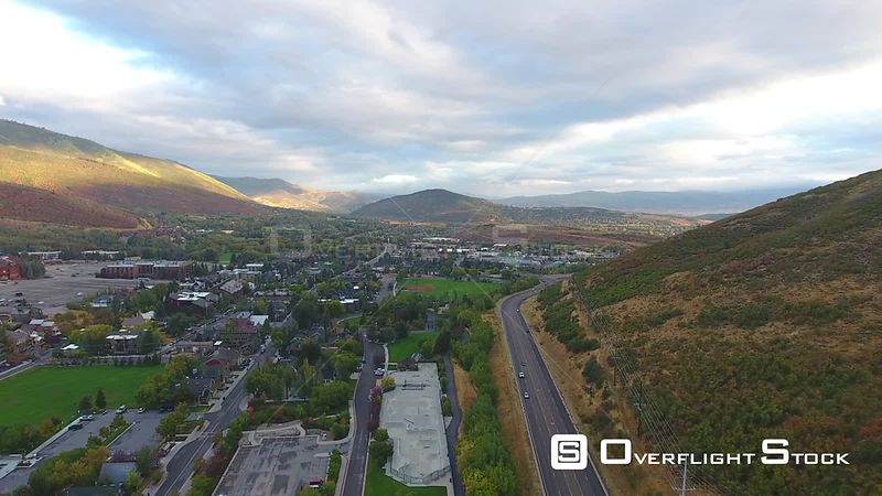 Park City Utah USA Drone Video
