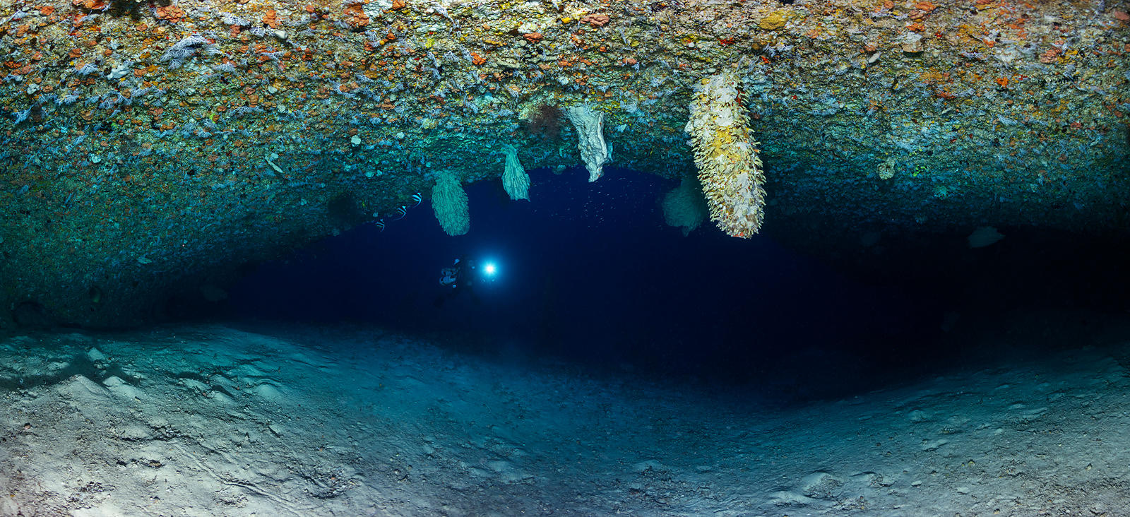 Underwater cave of Twilight zone
