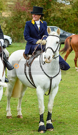 Sarah Edmunds at the meet. Quorn Hunt Opening Meet 2018