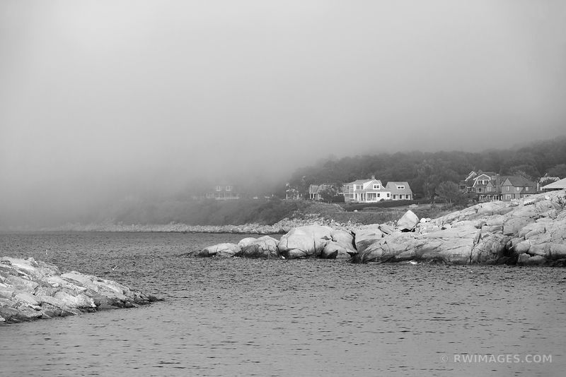 Cape Ann - Gloucester, Rockport Massachusetts - Black and White Photos