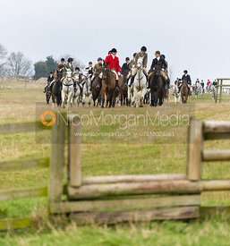 The Field - The Cottesmore Hunt at Burrough House 18/12