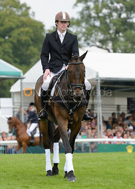 Angus Smales and BALLYVOONEY - show jumping phase, Burghley Horse Trials 2014.