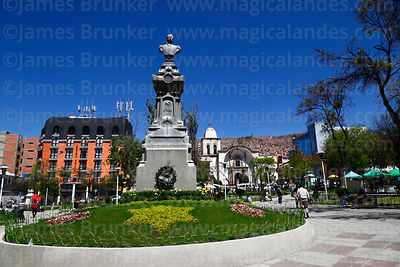 La Paz Buildings Monuments Squares