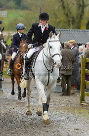 Willie Reardon at the meet at Oak House