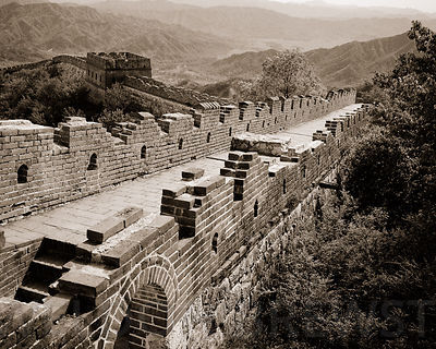 The Great Wall at Mutainyu