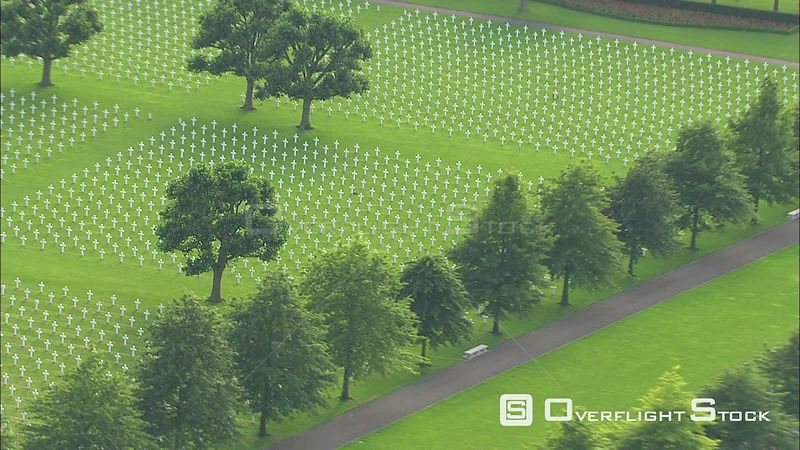 American Military Cemetery at Margraten near Maastricht, The Netherlands