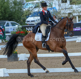 Kitty King leads the dressage with Ceylor LAN