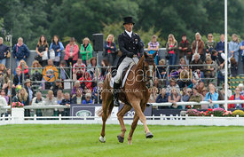 Andrew Nicholson and NEREO - dressage phase,  Land Rover Burghley Horse Trials, 6th September 2013.