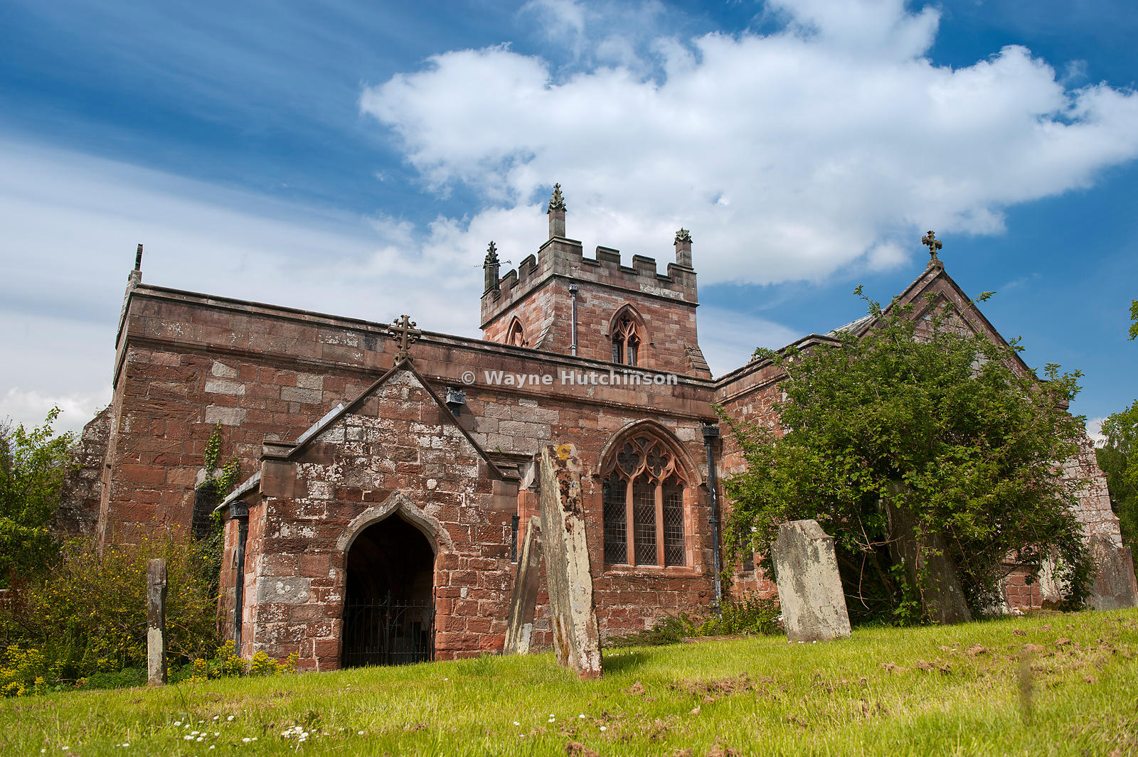 12c Church of Saint Michael in the Sands area of Appleby in Westmorland, UK.