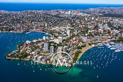 Darling Point Aerial Photography