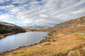 The View From Capel Curig From The A4086