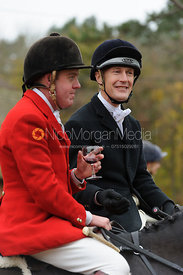Tom Kingston and James Henderson - The Belvoir Hunt at Scalford Hall 16-11-13
