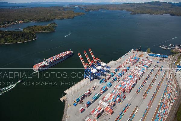 Fairview Container Port, Prince Rupert