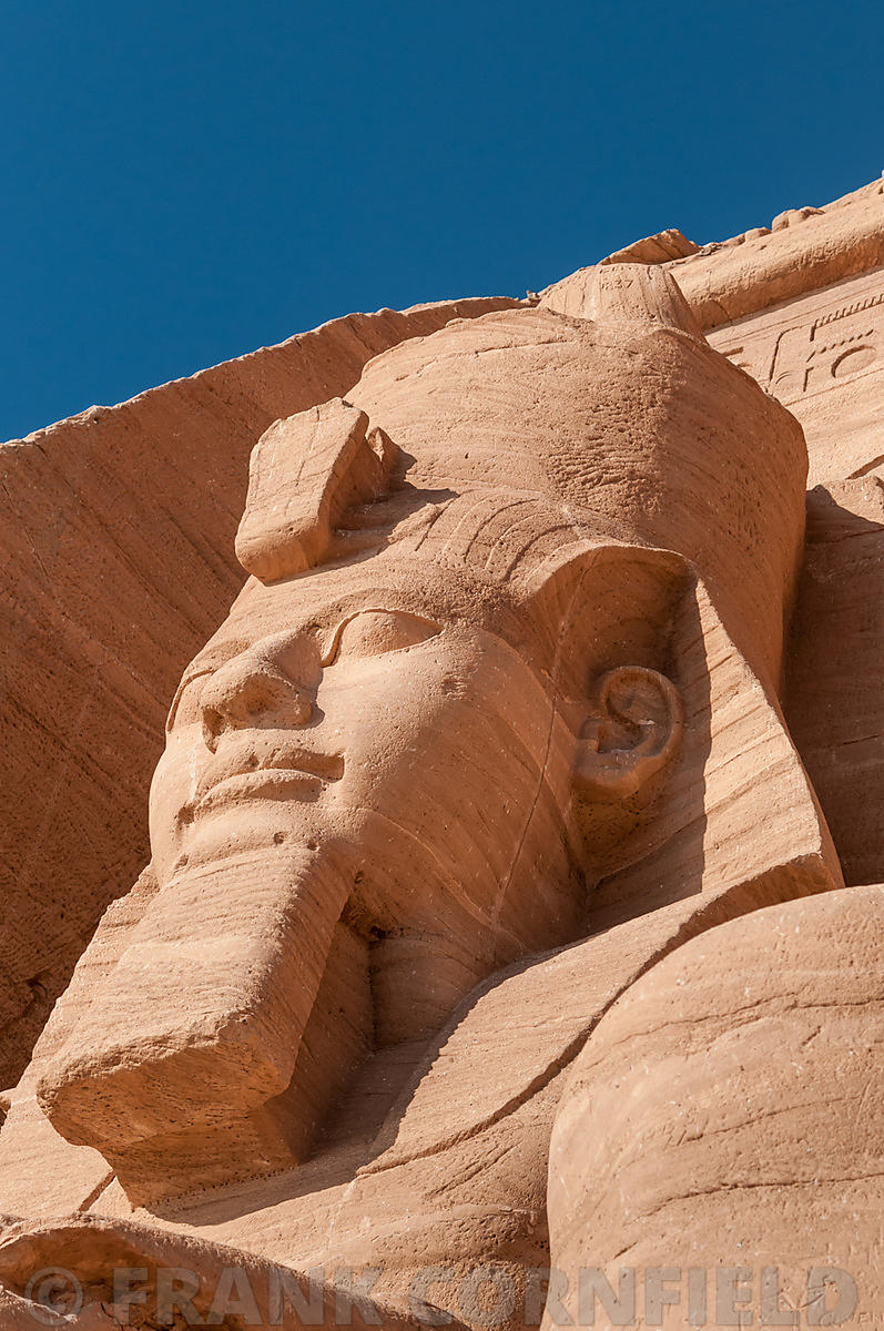 Abu Simbel Ramesses II head
