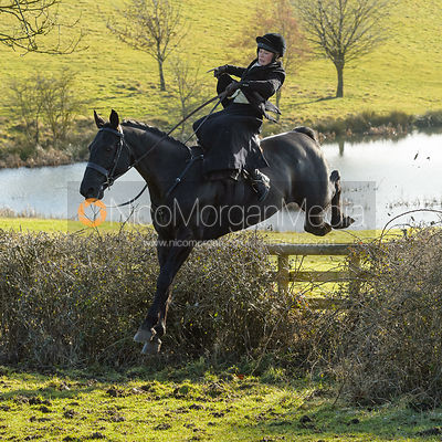 The Cottesmore Hunt at Priory Farm 30/1