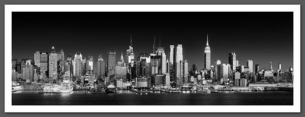 Manhattan Skyline panoramic - BP4510