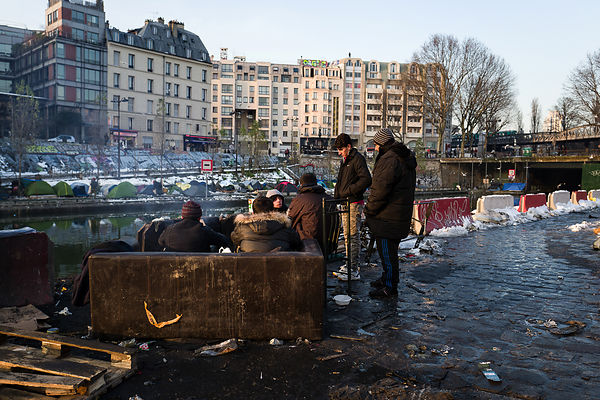 Campement Migrants Jaures
