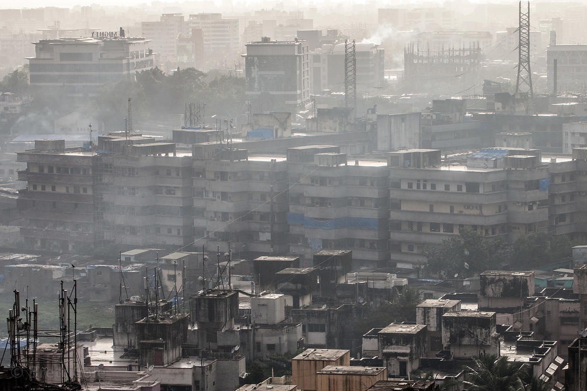 Air pollution in Mumbai, India is acute, with some reports suggesting breathing the air is akin to smoking a pack or two of c...