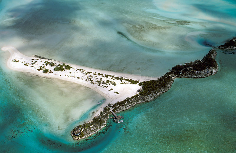 Pipe Cay, a very small island in the Exuma chain, located in the central portion of the Bahamas Archipelago. It is locataed i...