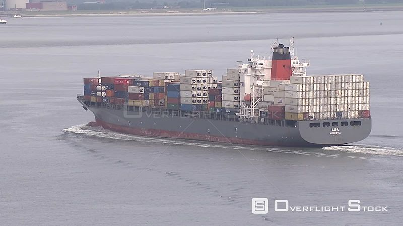 Container ship Netherlands