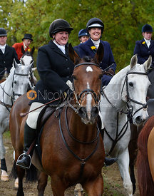 near Gartree Covert - Quorn Hunt Opening Meet 2016